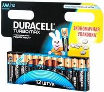 Батарейка DURACELL LR03 TURBO MAX 12BL (144), арт.: а00829